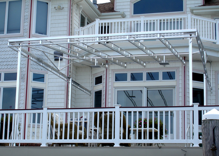 All Seasons Awnings, Residential Deck Awnings, Canopies ...